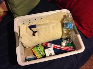 Guest basket
